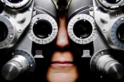 appareil de vérification de la vue