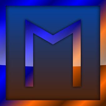 ehwaz rune shaped m