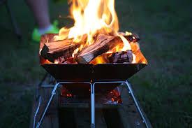 barbecue allumé
