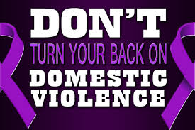 don't turn yor back on the violence