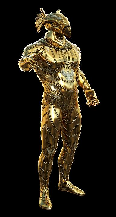 représentation Fantasque d'Horus.