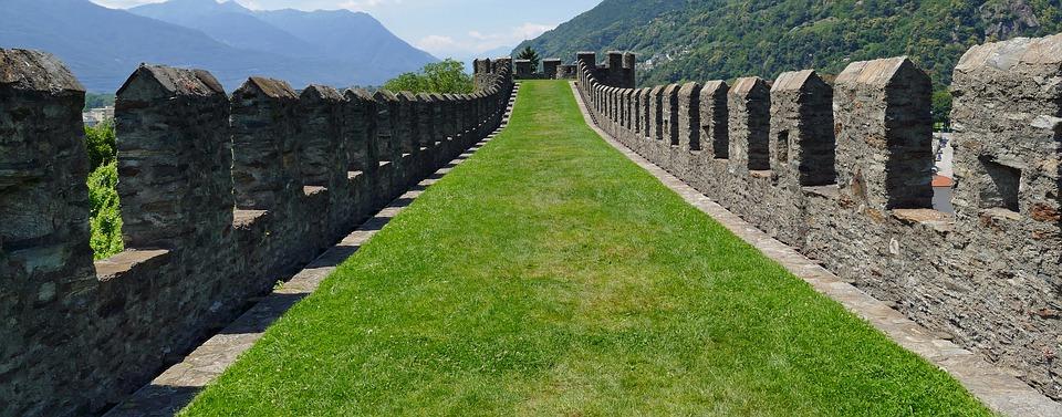photos de rempart de forteresse
